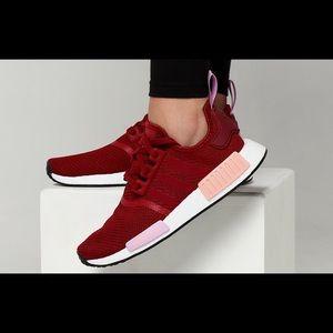 Adidas Women's NMD R1 Collegiate Burgundy Size 7.5